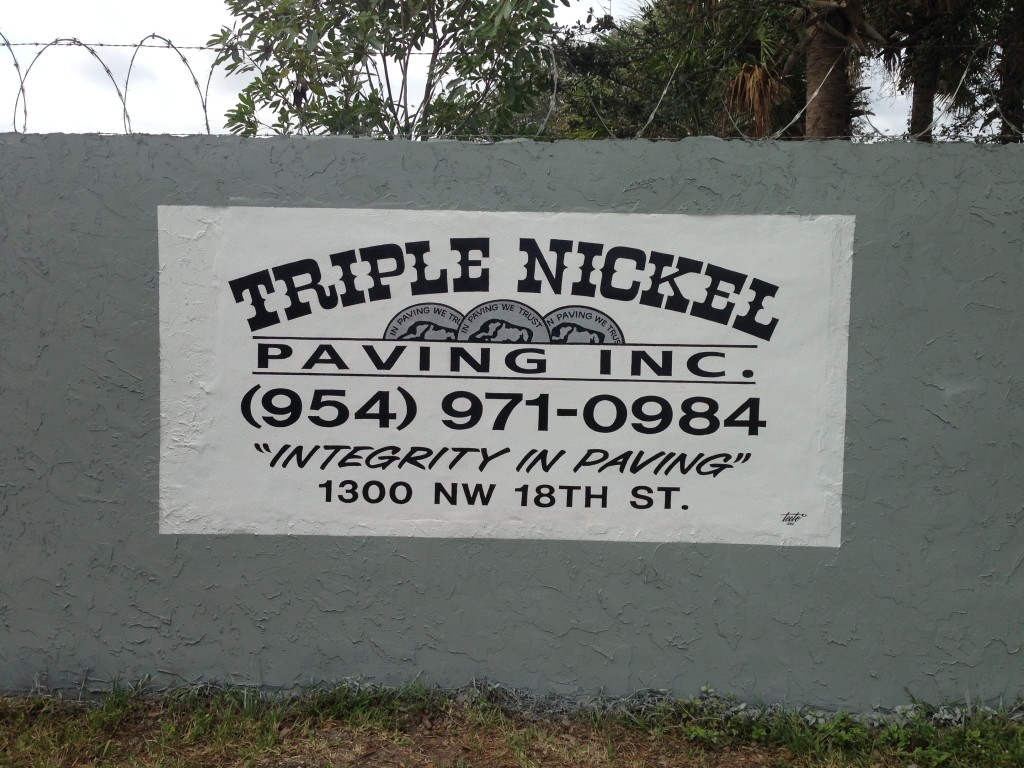 TRIPLE NICKEL WALL